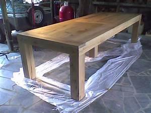 table rabattable cuisine paris fabriquer une table en bois With meuble de salle a manger avec construire sa cuisine