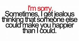 30+ Short Jealo... Admitting Jealousy Quotes