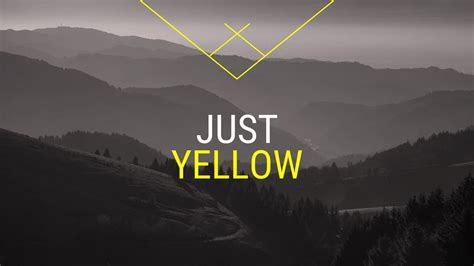 Slider Themes Just Yellow Free Powerpoint Templates And Slides