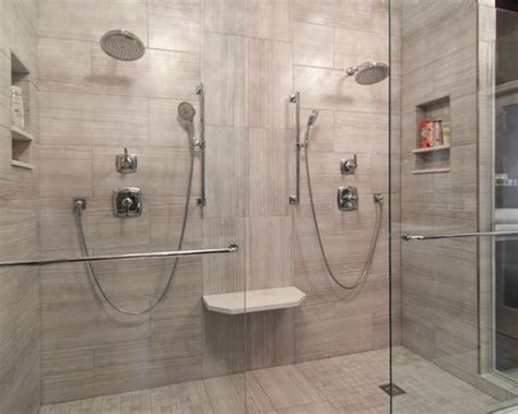 dual shower design ideas remodel pictures houzz