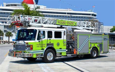 fl miami dade fire department ladder company