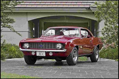 1969 Pontiac Trans Am Vs 1969 Chevrolet Camaro Zl1