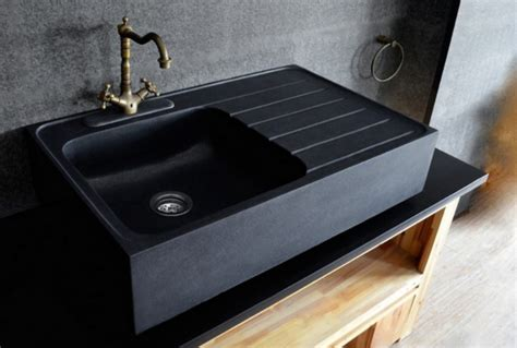what is matte stone sink get stoned 11 incredible kitchen sinks made from rock