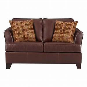 Inroom designs twin hide a bed sleeper umber brown at for Small hide a bed sofa
