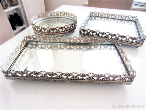 styles exciting mirrored vanity tray  inspiring elegant tray design ideas lamosquitiaorg