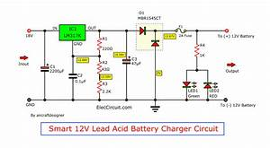 6v  12v  24v Lead Acid Battery Charger Using Lm317