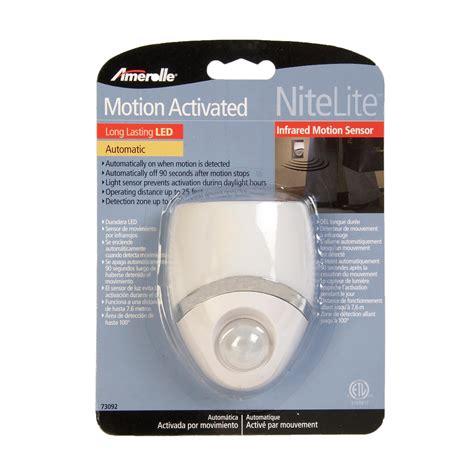 amertac white in light sensor instructions amertac westek 73092cc led night light motion sensor