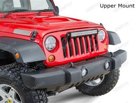 20 quot 120w high power led light bar kit for jeep wrangler jk