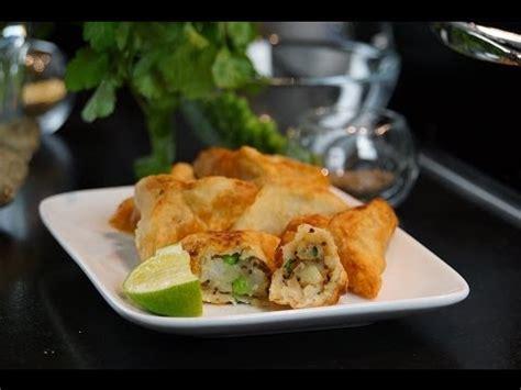 cuisine indienne vegetarienne recette des nems vietnamiens au crabe et aux crevettes doovi