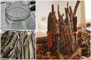 Basteln Mit ästen Aus Dem Wald : sch ne herbstdeko mit nat rlichem material basteln ~ Buech-reservation.com Haus und Dekorationen