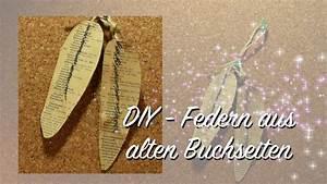 Basteln Mit Buchseiten : federn aus alten buchseiten basteln shabby chic diy upcycling youtube ~ Eleganceandgraceweddings.com Haus und Dekorationen