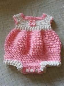 Free Newborn Crochet Baby Romper Patterns