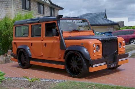 Modifikasi Land Rover Discovery by Penggemar Berat Wheels Ubah Land Rover Defender Tua