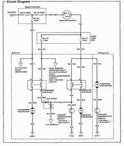 Radiator Fan Wiring Diagram Toyota
