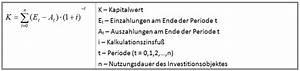 Kapitalwert Berechnen Formel : organisationshandbuch quantitative bewertungsmethoden 6 5 1 quantitative bewertungsmethoden ~ Themetempest.com Abrechnung
