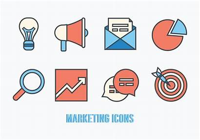 Vector Marketing Icons Pack Graphics Vectors Clipart