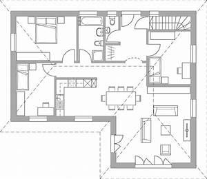 Haus L Form : haus 461 altersgerechter bungalow bautec ag ~ Buech-reservation.com Haus und Dekorationen