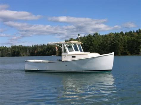 Soundings Boats For Sale by Soundings Article On Wood Lobsterboat Building