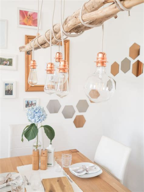 Esszimmer Le Decke by Diy Kupfer Le In 2019 Home Kupferle