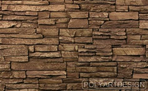 Homeofficedecoration  Best Faux Stone Wall