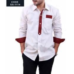 designer shirts mens white designer shirt with maroon contrast pakistan pakistan shirt designs for