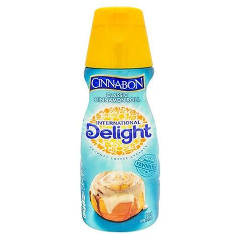 Add the famous taste of cinnabon® to your morning coffee with this delightful coffee creamer. INTERNATIONAL DELIGHT COFFEE CREAMER CINNABON 16oz | Sunac Natural Market