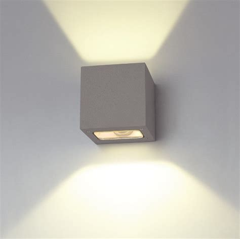3x1w led outdoor wall washer light fixture downside buy