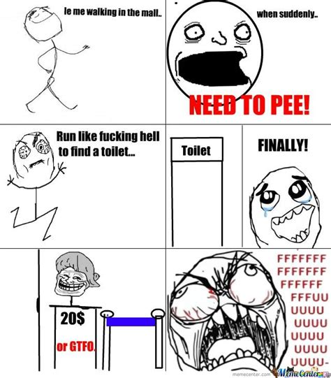 Pee Meme - i need to pee by erulz12 meme center