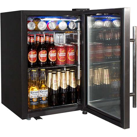 Small Bar With Refrigerator by Tropical Glass Door Drinks Chiller Refrigerator