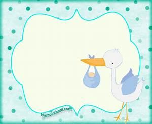Marcos de Baby Shower y Nacimiento niños Marcos Infantiles