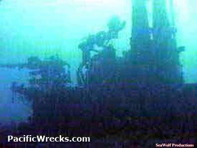 pacific wrecks uss apogon ss  coning tower  anti