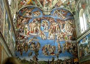 Sistine Chapel Wall Fresco   Pittura   Pinterest