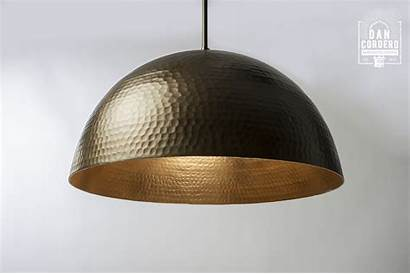 Hammered Pendant Bronze Dome Oil Rubbed Fixture