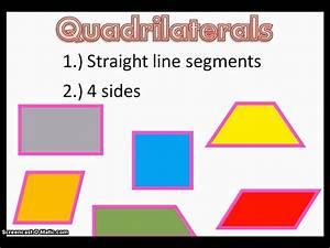 Quadrilaterals - YouTube  Quadrilateral