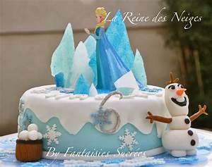 Gateau Anniversaire Reine Des Neiges : fantaisies sucr es la reine des neiges g teau d ~ Melissatoandfro.com Idées de Décoration