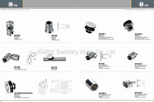 Stainless Steel Hardware for Shower Door - 8018 - KMRY