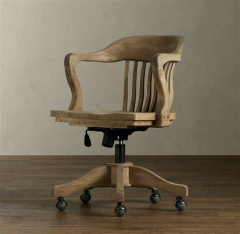 chaise de bureau en bois chaise de bureau bois
