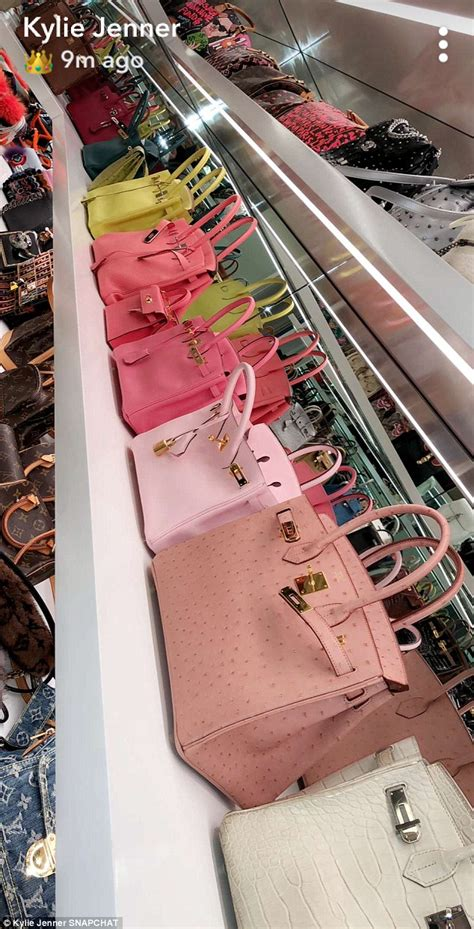 kylie jenners million handbag collection daily