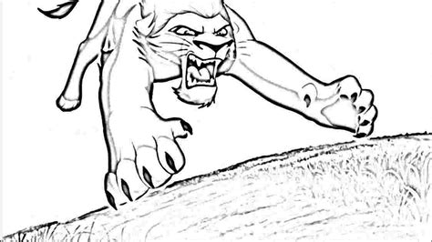 Lion King Coloring Pages Free Democraciaejustica