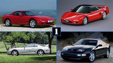 japanese sports cars      ferrari nervous
