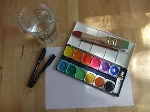Malen Mit Wasserfarben : mandala malen mit wasserfarben fr bel ~ Orissabook.com Haus und Dekorationen