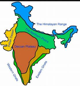 On physical map of india mark deccan plateau.plz tell me ...