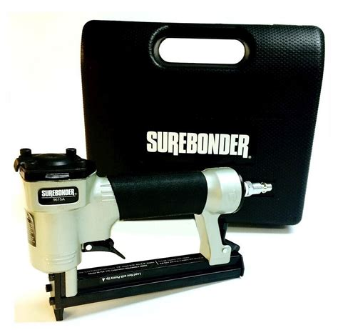Air Staple Gun For Upholstery by Surebonder 9615 Heavy Duty Stapler Upholstery Pneumatic