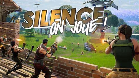 silence  joue fortnite battle royale pc building