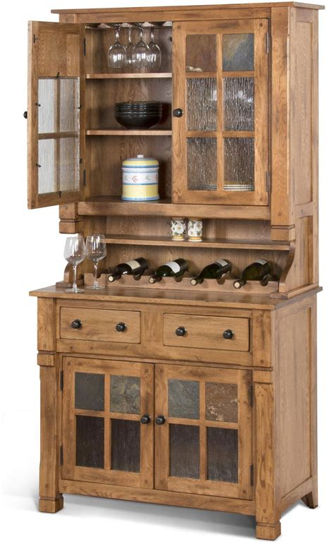 Hutch And Buffet by Rustic Oak Hutch And Buffet Oak Hutch And Buffet China