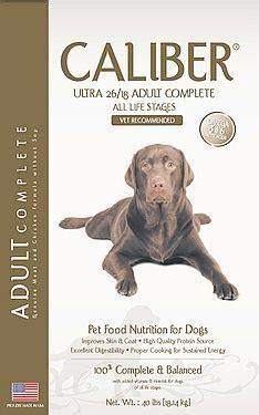 makanan anjing berkualitas caliber ultra produk