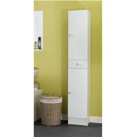 colonne salle de bain cdiscount galet colonne 30x178cm 2 portes blanche achat vente colonne salle de bain galet colonne