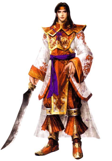 zhou yu characters art dynasty warriors