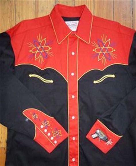 rockmount ranch wear mens vintage western shirt fancy
