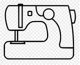 Machine Svg Sewing Graphic Coloring Icon Clipart Pinclipart Sheet sketch template